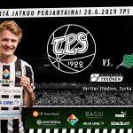 TPS - EIF Veritas Stadionilla tänään kello 18:30