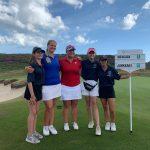 Krista Junkkarille historiallinen hopea golfin Euroopan mestaruuskisoissa