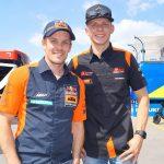 MotoGP-sarjan testitiimit valmiina korkkaamaan KymiRingin radan