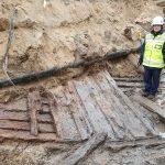 Oulussa löytyi pysäköintialueen kaivutöissä laivan hylky