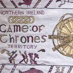 87 metrin mittainen Game of Thrones -kuvakudos asetettu näytteille