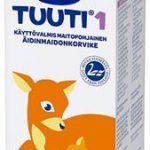 Valio poistaa myynnistä erän Valio Tuuti® 1 äidinmaidonkorviketta litran pakkauksessa