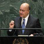 Emme ole vihamielisyyden laukaisualusta - Irakin presidentti