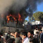 Kaksi kuollut maahanmuuttajien mellakassa Kreikassa