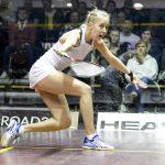 Emilia Soini kaatui taistellen squashin MM-kilpailujen avauskierroksella