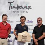 Wilbertsson Timberwise Finnish Openin voittoon – Välimäellä hyvä kiripäivä