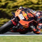 Kallio 18:s MotoGP:n Australian osakilpailun harjoituksissa