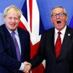 Viimeinkin! Juncker ja Johnson pitivät tänään yhteisen tiedotustilaisuuden
