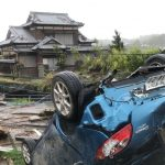 Hirviö taifuuni Hagibis vaati ensimmäisen uhrinsa