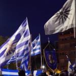Kreikkalaiset marssivat maahanmuuttajapolitiikkaa vastaan, hallituksen otettua 40 000 pakolaista viimeisen 4 kuukauden aikana