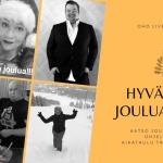Joulun ohjelma-aikataulu OHO Live TV:llä