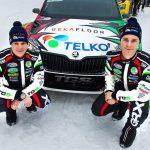 Lindholm ja Pietarinen valmiita Ruotsin rallin lähes lumettomille erikoiskokeille