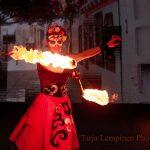 Fire Ladyn huikea tulishow mykistyttää - katso video