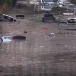 Palermossa tulva yllätti autoilijat