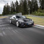 Porsche Panameralle ratakierrosennätys Michelin-renkain