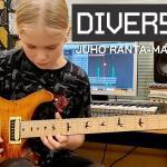 14-vuotias Juho Ranta-Maunus kruunattiin maailman parhaaksi nuoreksi kitaristiksi