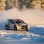 Mikko Heikkilän Arctic Lapland Rally ennenaikaiseen päätökseen