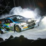Teemu Asunmaa määrätietoisena puolustamaan kauden avaavan Arctic Lapland Rallyn SM1-luokan voittoa