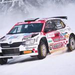 Mikko Heikkilä latautuneena SM-kauden avaavaan Arctic Lapland Rallyyn