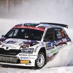 Mikko Heikkilä WRC-rallidebyytissään luokkansa kolmas