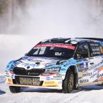 Teemu Asunmaa on voittanut WRC3-luokan WRC Arctic Rally Finlandissa