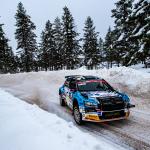 Teemu Asunmaa luokkansa toisena WRC Arctic Rally Finlandissa