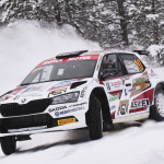 Mikko Heikkilä mukana uransa ensimmäisessä MM-rallissa WRC Arctic Rally Finlandissa