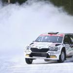 Mikko Heikkilä on voittanut ensimmäisen SM-rallinsa